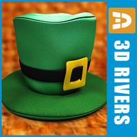 Saint Patricks day hat by 3DRivers