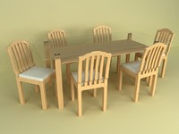 Table and chairs.zip