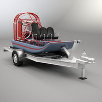 3ds airboat air boat