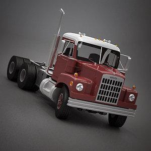 3d white 9000 truck 1968