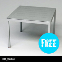 free driade tikka table 3d model