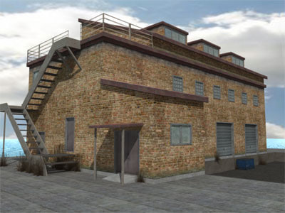 3d warehouse building model