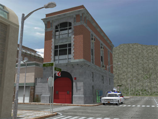 3d ghostbusters hq