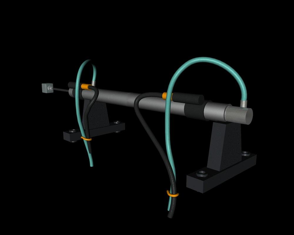 3d hydraulic cylinder