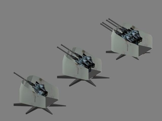 3d weapon wwii