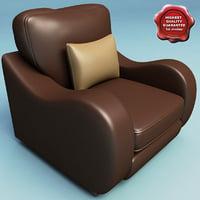 armchair v15 3d max