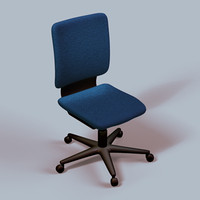 blue lab chair