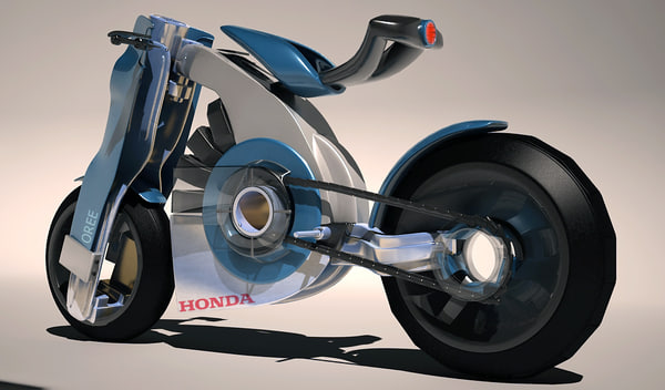 bike electric 3d 3ds