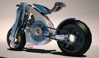 bike electric 3d 3ds