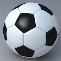 3d model football ball