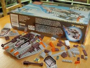 3d model lego snowspeeder