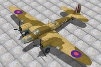 martin maryland bomber 3d lwo