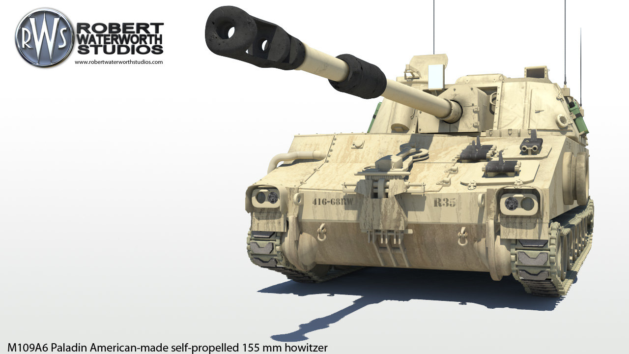self-propelled 155 mm howitzer 3d ma