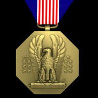 3d model of soldiers medal