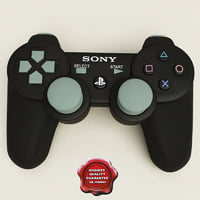 3d sony playstation 3 controllers