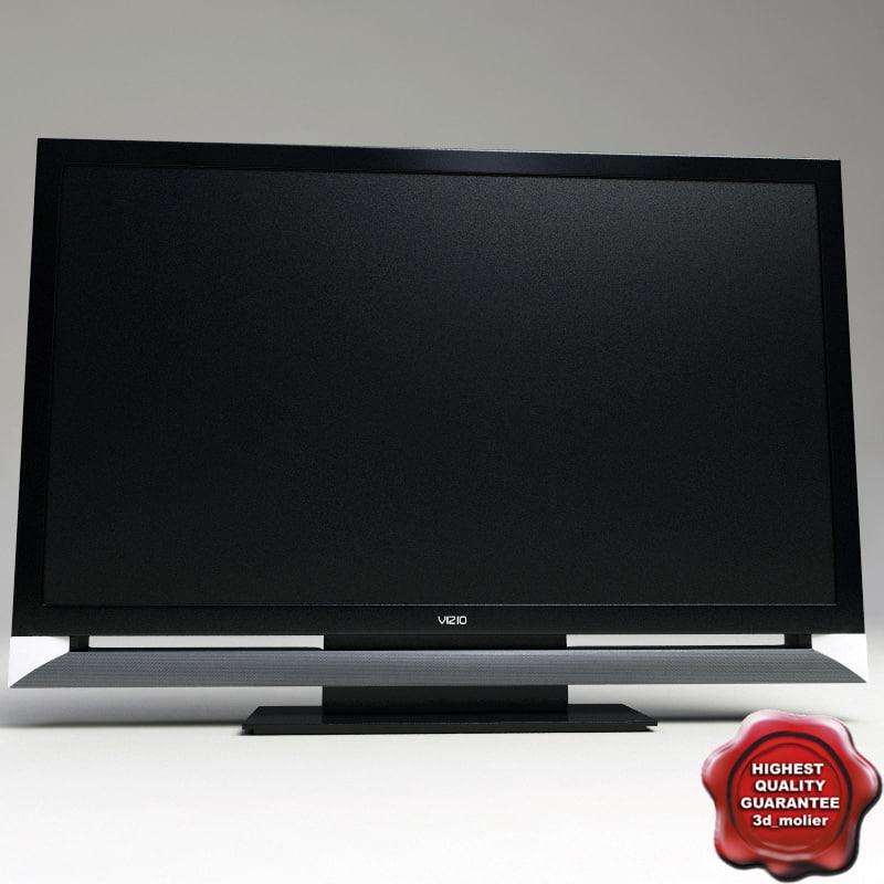 3d vizio f550 xvt tv model
