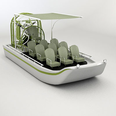 airboat swamp air 3d max