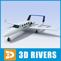adam aircraft a700 3d 3ds