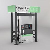 dispenser cng 3d model