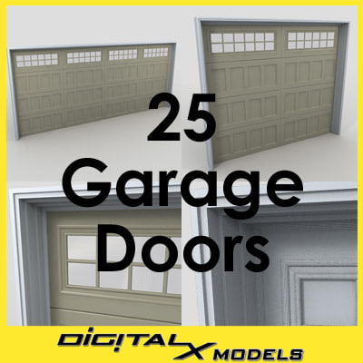 3ds garage doors