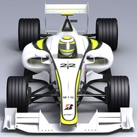 Formula 1 Brawn_01_Textured.zip
