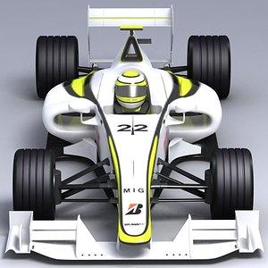 3d f1 race
