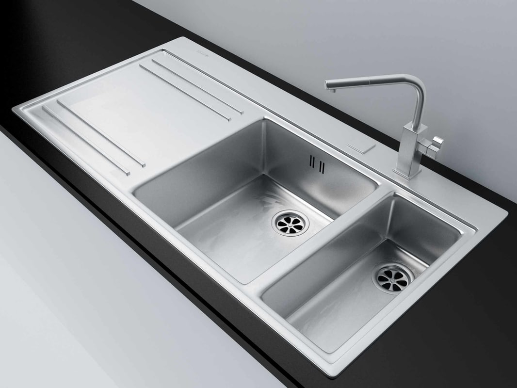 Kitchen Sink Franke Mythos With Accessories