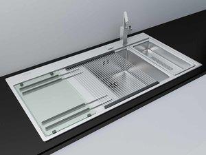 max modern kitchen sink accessories