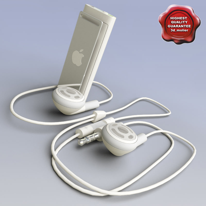 3d model ipod shuffle voiceover