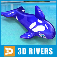 Inflatable dolphin by 3DRivers