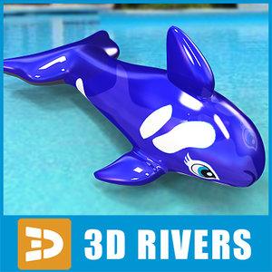 maya inflatable dolphin