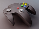 Nintendo 64 3D models