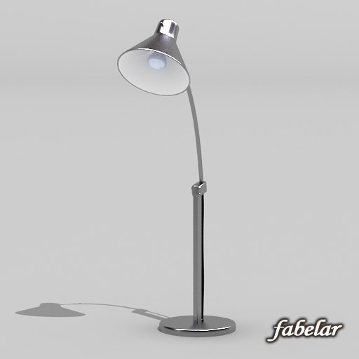 swing table lamp 3d max