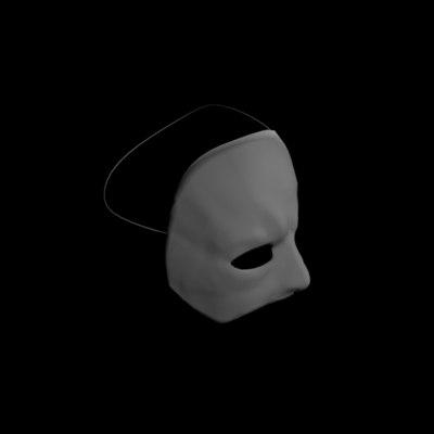 3d model mask phantom