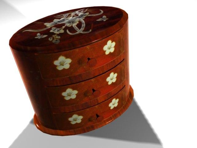 jewelery cabinet max free