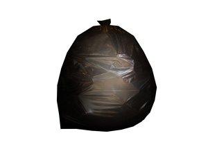 3d trash bag model