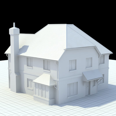3d english house