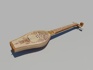 georgian old musical 3d max
