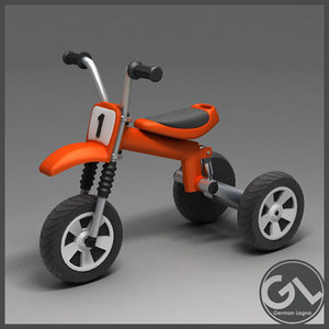 3d tricycle model