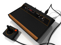3d model classic console