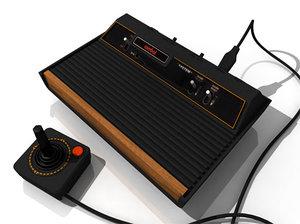 3d model classic console