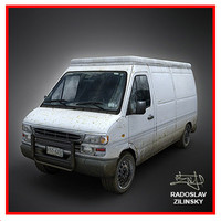 VAN 3d model (dirty version)