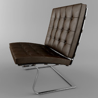 tugendhat chair 3d max