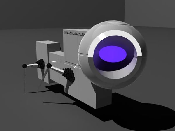 free small droid 3d model