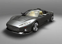 spyker alias wire 3d 3ds