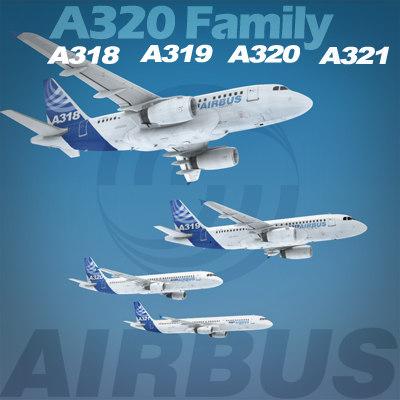 maya airbus a320 family