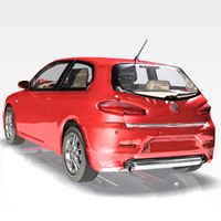 3ds max car alfa romeo 147