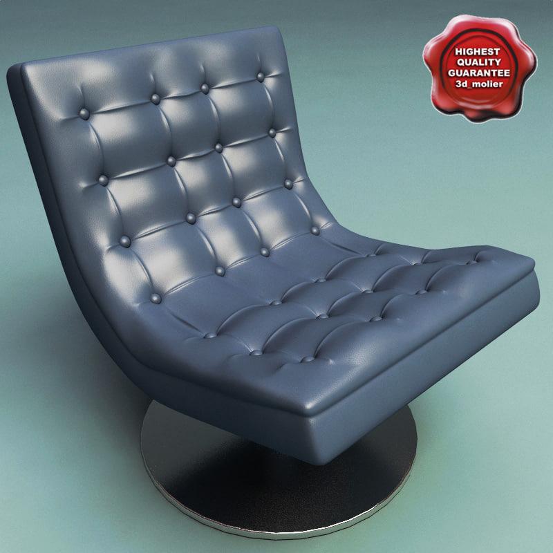 armchair v17 3d max