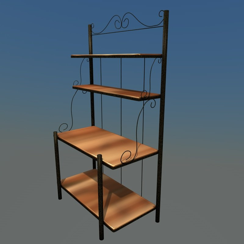 3ds max bakers rack