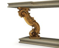 3d classical console